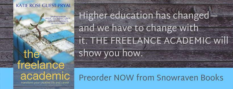Higher Education has changed—Preorder THE FREELANCE ACADEMIC